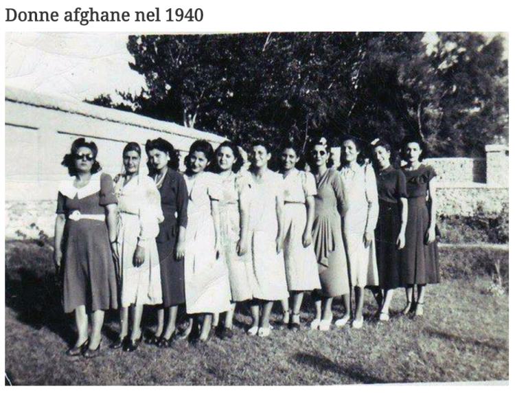 donne afghane 1940